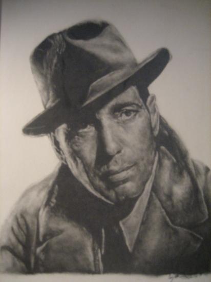 Humphrey Bogart por Dracvula